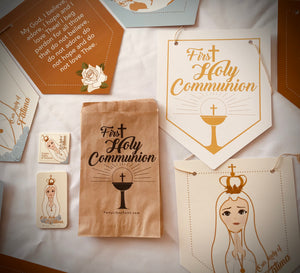 Our Lady of Fatima First Holy Communion Party Decorations