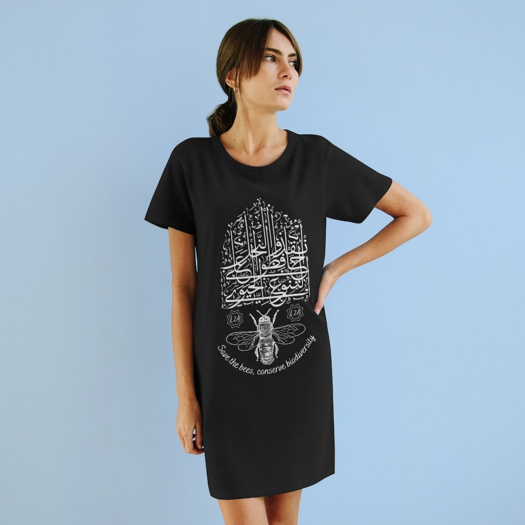 Save the Bees T-shirt Dress