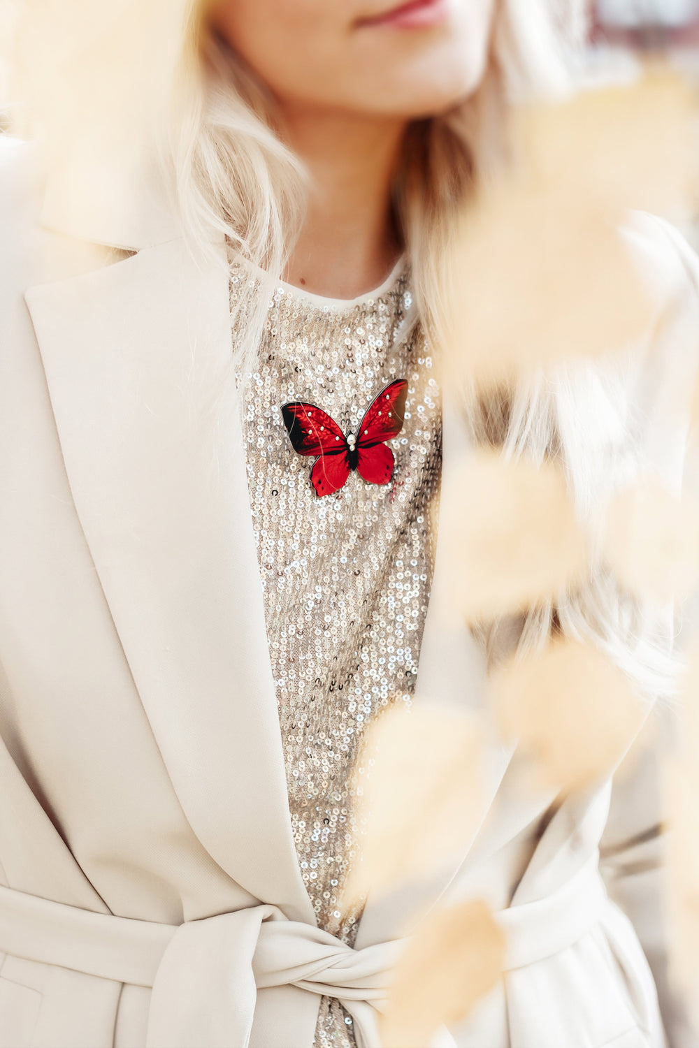 Partyfly Butterfly Brooch