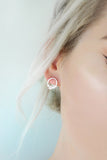 Silver Halo Earrings - KUMA Design Store