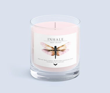 KUMA Inhale candle (sweet orange)