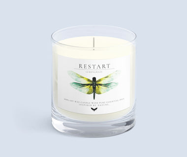 KUMA Restart candle (lemongrass)