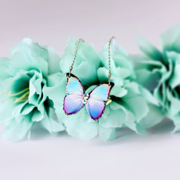 August Butterfly Necklace - KUMA Design Store