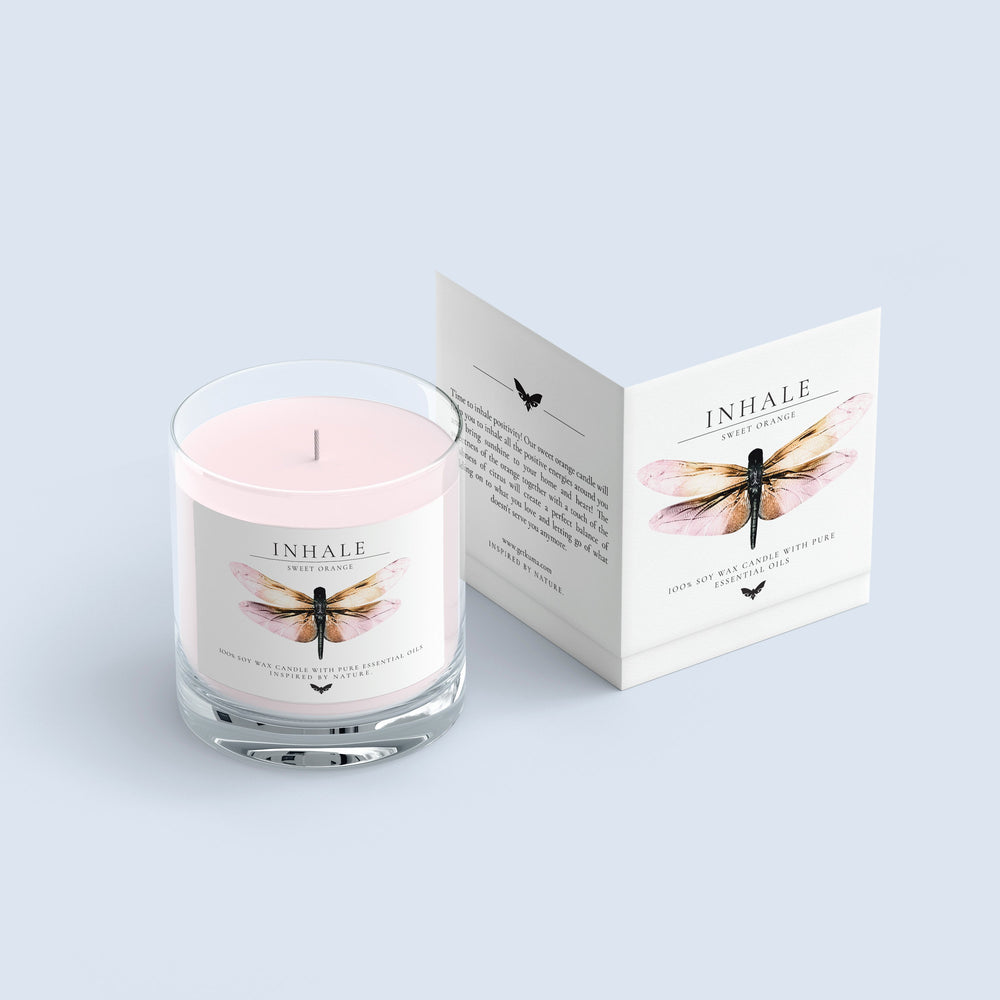 KUMA Inhale candle (sweet orange) - KUMA Design Store
