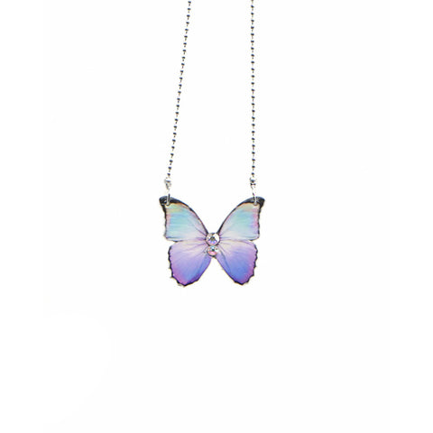 August Butterfly Necklace