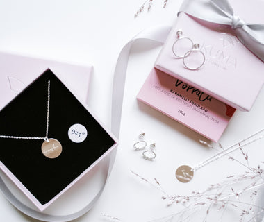 KUMA Silver Necklace x KUMA chocolate Gift Set