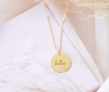 "Necklace ""Kallis"" (golden)"
