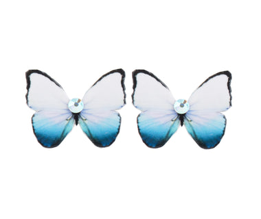 Forget-Me-Not Butterfly Earrings