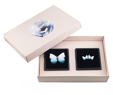KUMA Gift Set V - Butterfly Brooch + Earrings