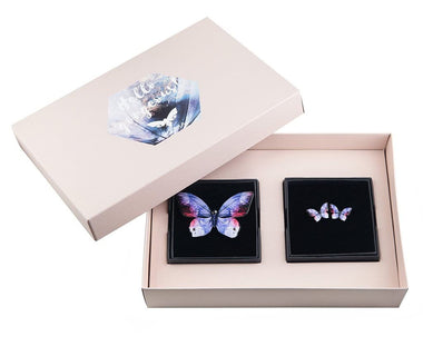 KUMA Gift Set III - Butterfly Brooch + Earrings