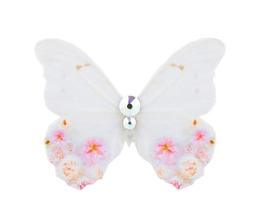 Mini Spring Halo Butterfly Brooch Kids