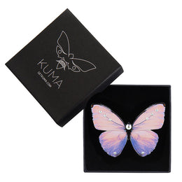 Lilac Sunset Butterfly Brooch - KUMA Design Store