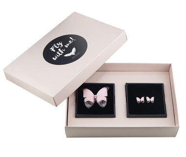 KUMA Gift Set II - Butterfly Brooch + Earrings