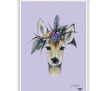 "Wall print ""Bambi"" by Mari Ojasaar (with print hangers)"