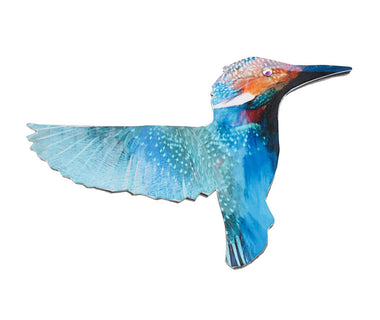 Kingfisher Bird Brooch
