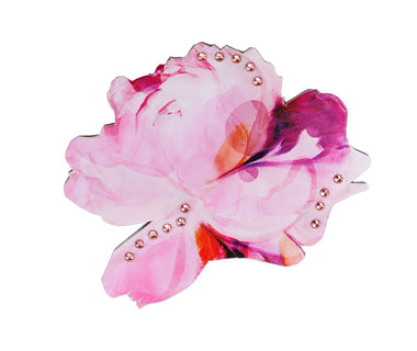 Pretty Peonie Flower Brooch