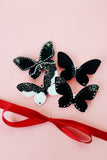 Black Lace Butterfly brooch - KUMA Design Store