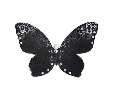 Black Lace Butterfly brooch