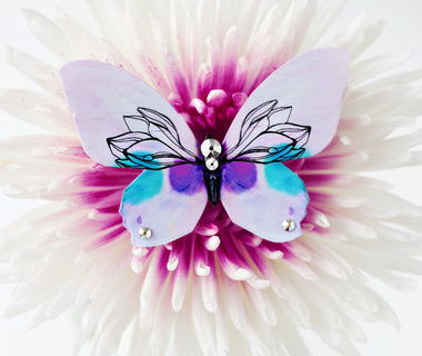 Dreamy Lily Butterfly Brooch