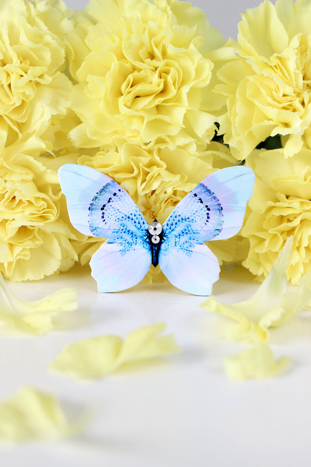 Happy-go-lucky Butterfly Brooch - KUMA Design Store