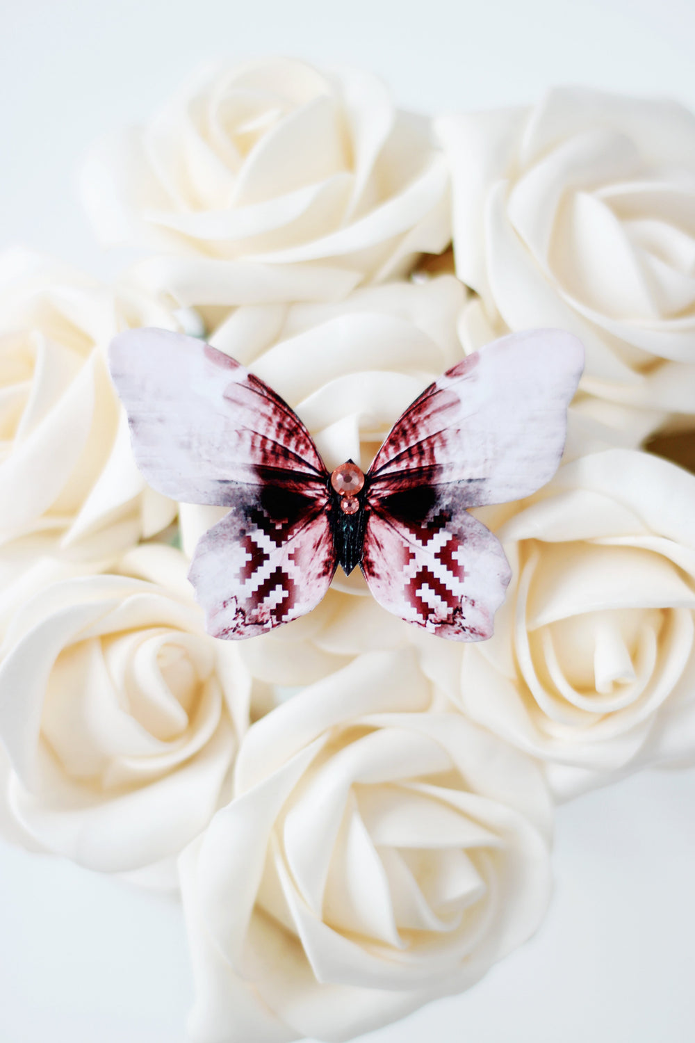 Latvian Powerfly Butterfly Brooch - KUMA Design Store