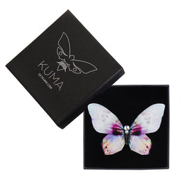 Sea Shell Butterfly Brooch - KUMA Design Store