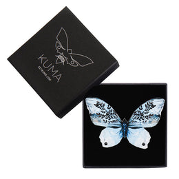 Snow White Butterfly Brooch - KUMA Design Store