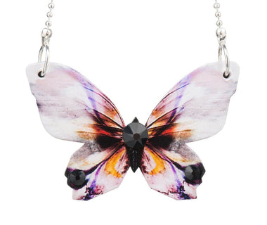 Busy Bee Butterfly Necklace