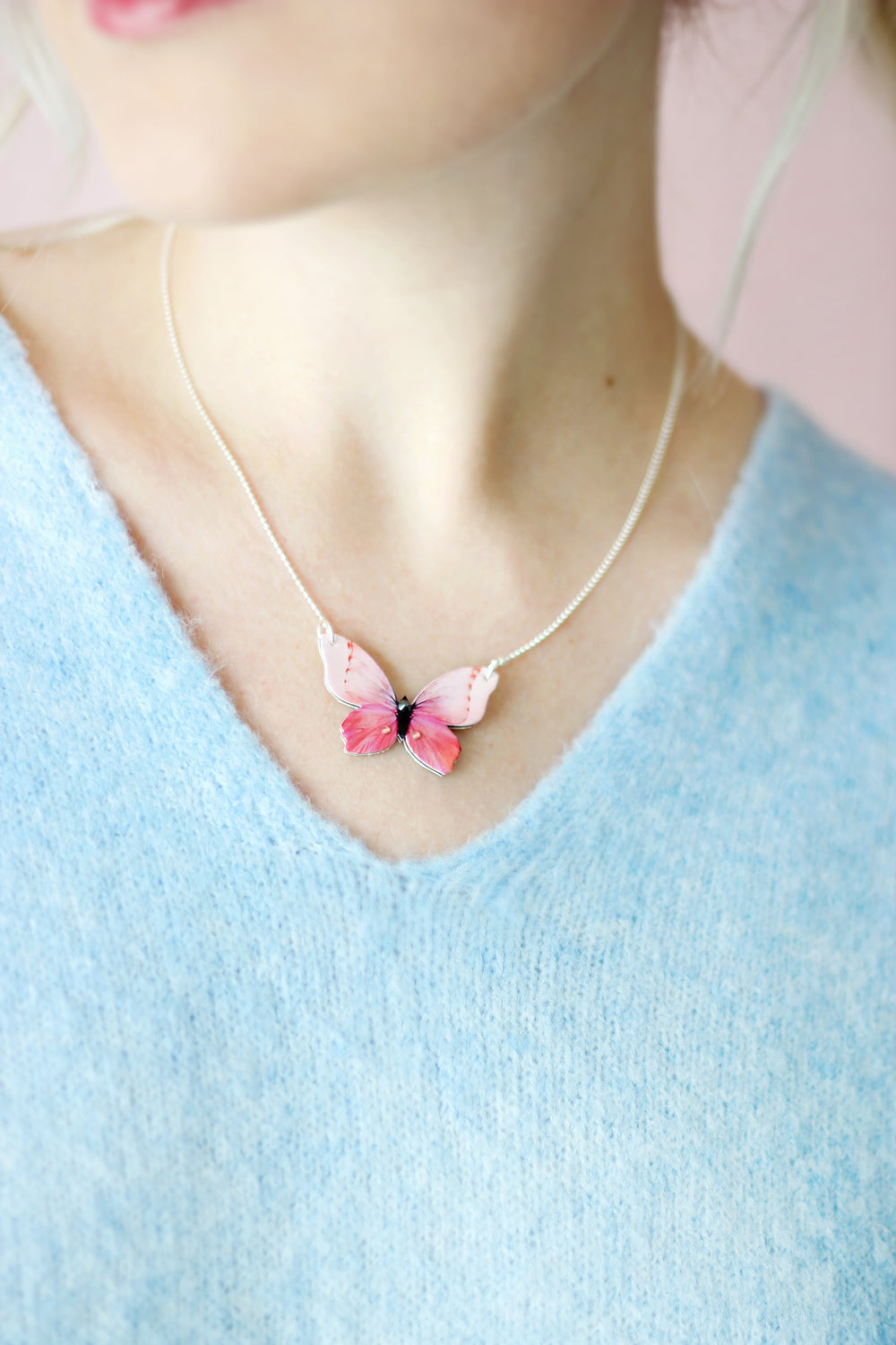 First Love Butterfly Necklace - KUMA Design Store