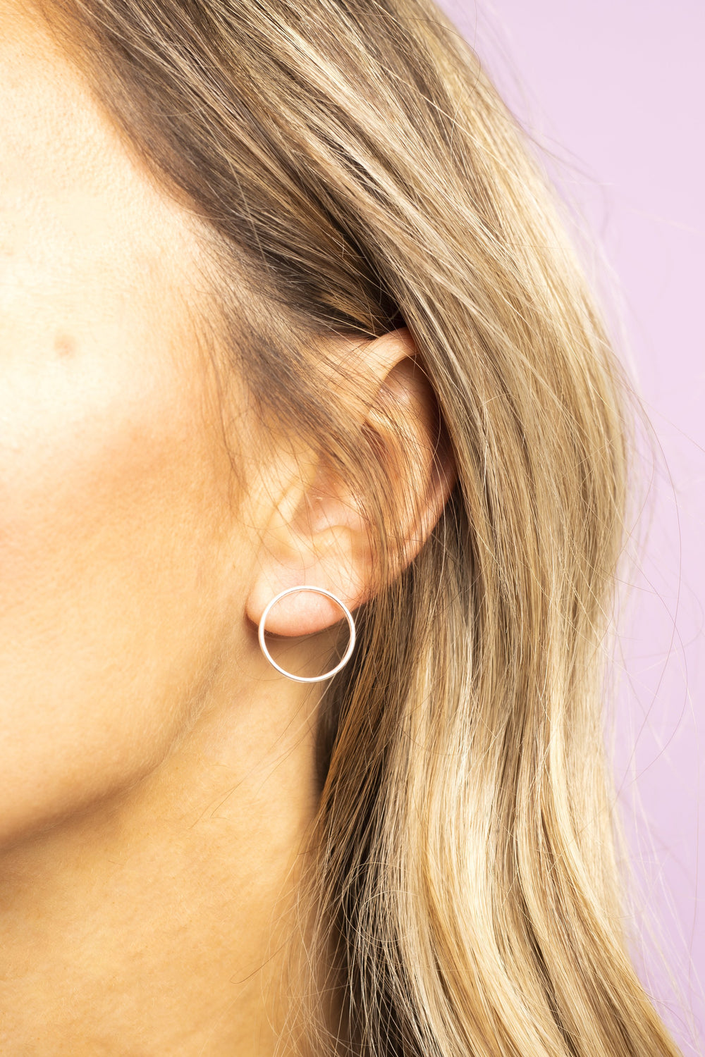 Silver Hoops Earrings - KUMA Design Store