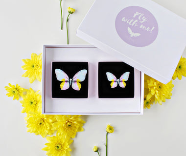 KUMA Gift Set II - Butterfly Brooch + Mini Butterfly Brooch