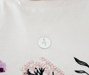 "Necklace ""Õnn"" (silver)"