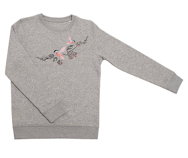 Dancing birds Kids sweatshirt