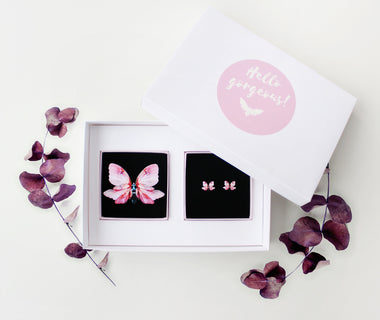 KUMA Gift Set XVI- Brooch + Earrings