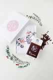 KUMA Dancing Birds t-shirt x Roosiku talu chocolate Gift Set