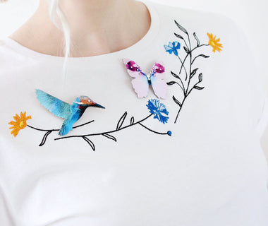 Pretty Dancers embroidered t-shirt