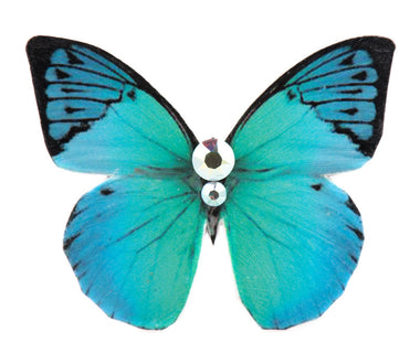 Mini Butterfly Brooch Turquoise