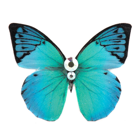 Mini Butterfly Turquoise