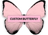 Customized Butterfly Brooch