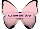 Customized Butterfly Brooch - KUMA Design Store