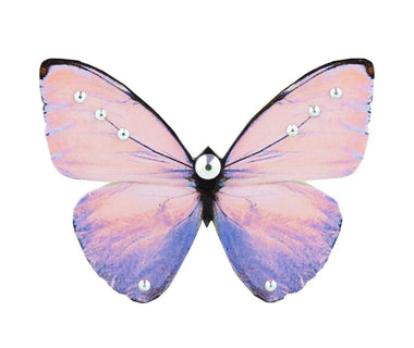 Lilac Sunset Butterfly Brooch