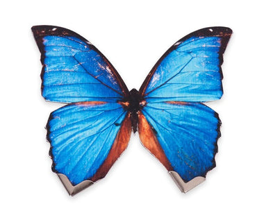 Blue Butterfly Brooch