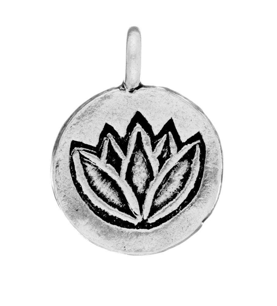 Load image into Gallery viewer, Pure Silver Karen Hill Tribe Lotus Flower Pendant