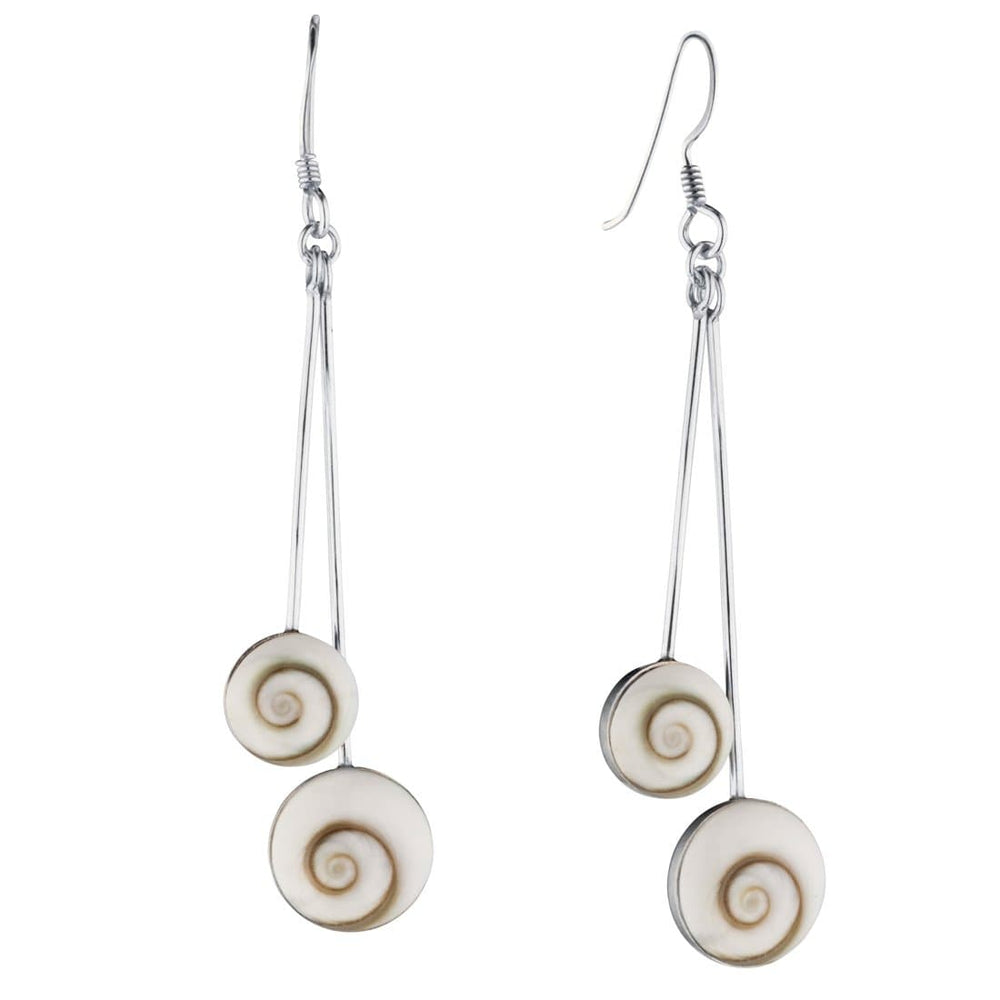 Sterling Silver Shiva Eye Earrings - 81stgeneration