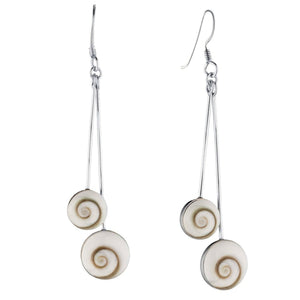 Load image into Gallery viewer, Sterling Silver Shiva Eye Earrings - 81stgeneration