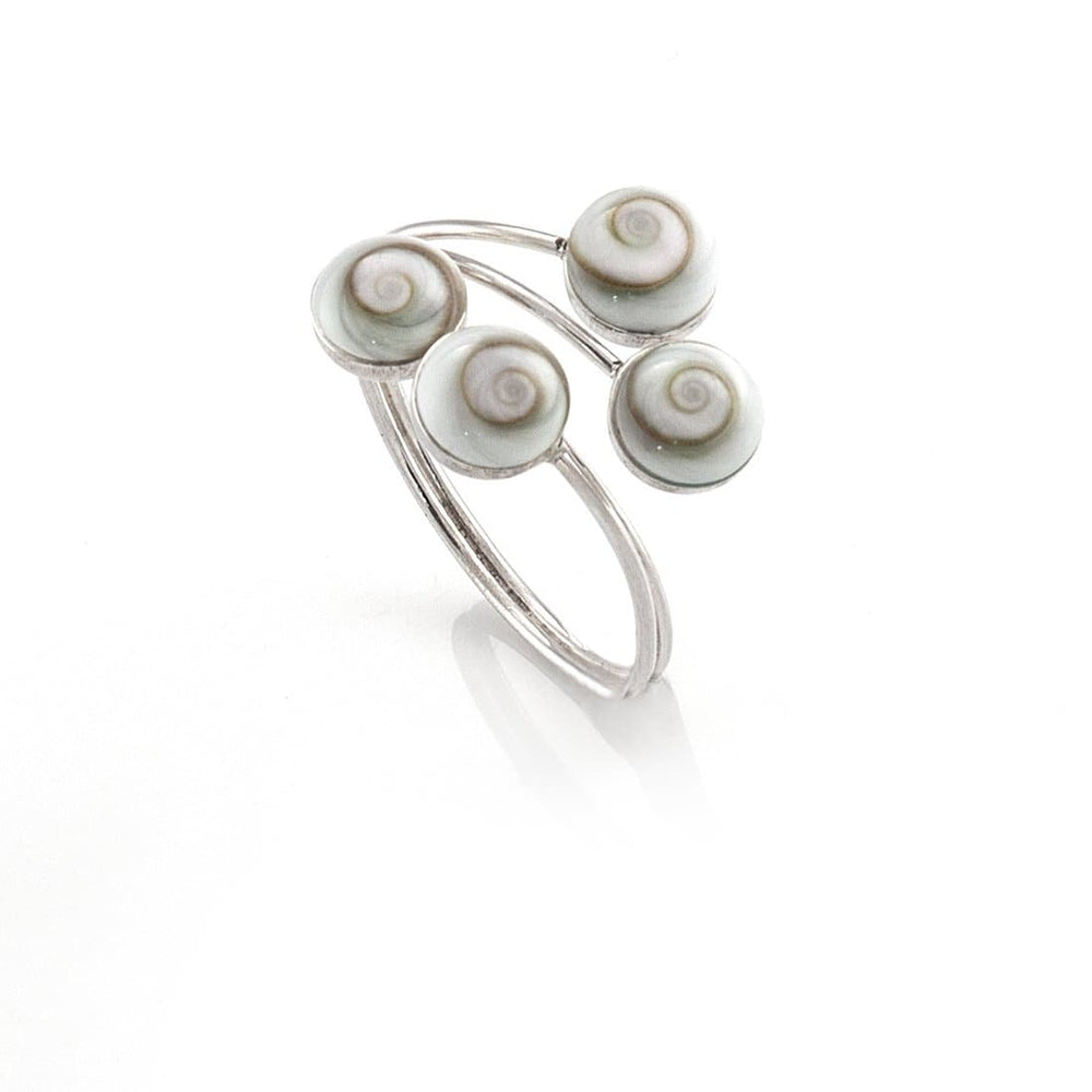 Load image into Gallery viewer, Sterling Silver Shiva Eye Ring