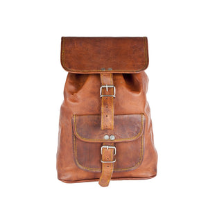 Leather Vintage Everyday Small Rucksack