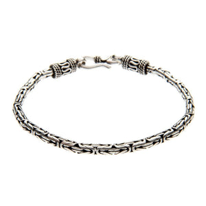 Sterling Silver Bangle Balinese Rope