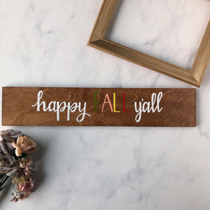 Custom Wood Sign (No Frame) - Made to Order