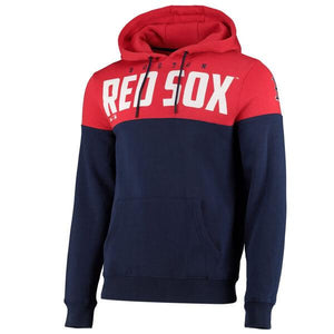 Fanatics Boston Red Sox Cut and Sew OTH panelled Hoodie - Ameri-Camden
